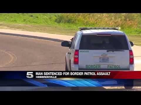 Man Sentenced for Border Patrol Assault