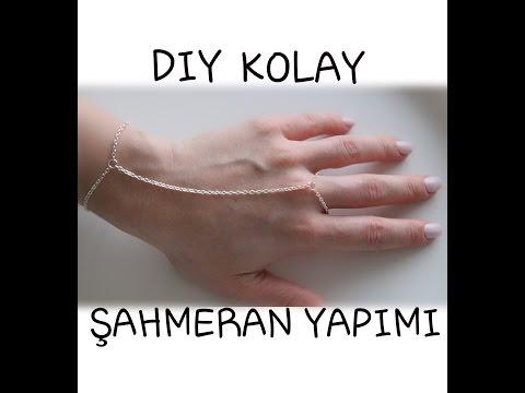 DIY-KOLAY ŞAHMERAN BİLEKLİK YAPIMI ||...