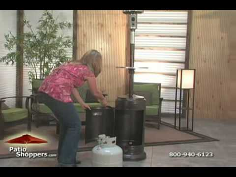 Hiland Patio Heater. PatioShoppers TV