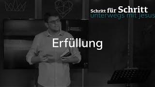 Erfüllung - Matthäus 5,17-20 - Schritt für Schritt unterwegs mit Jesus - Maiko Müller