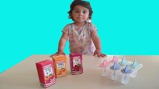 Fruity Made Ice Cream | Rengarenk Dondurma Yaptık | For Kids Video