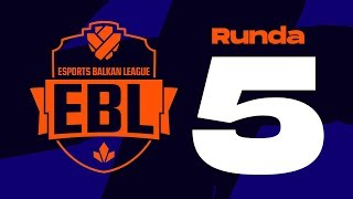 EBL LoL 2019 Runda 5 - Level Up vs Crvena Zvezda w/ Sa1na, Mićko i Đorđe Đurđev