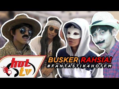 Menyamar busking di KLCC - Aiman, Khai, Sufian & Tajul - #Fantastik4HotFM
