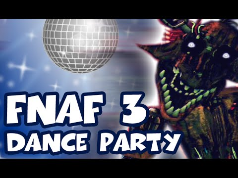 Five nights at freddy 39 s 3 dance party fnaf 3 not scary youtube - Fnaf 3 not scary ...
