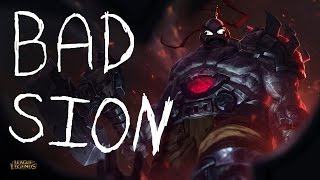 League of Legends: When your Sion has done one too many bad ults