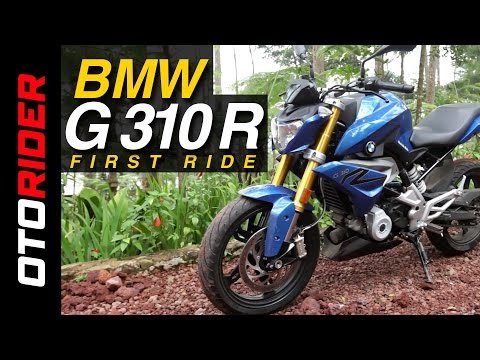 BMW G 310 R 2017 First Ride Review - Indonesia | OtoRider