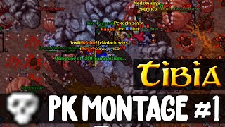 Tibia: PK Montage #1 - Random players, guilds, worlds...