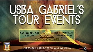 DAY 2 • USBA/Gabriel's Tour Event - 3 Cushion Billiards from The Casino Del Sol