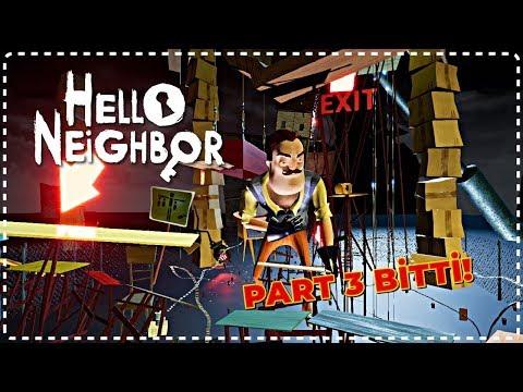 Hello Neighbor | BODRUM KATINI SONUNDA BİTİRDİM - MODS [Türkçe] #126