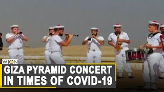 Bagpipe band performs in heart of Egypt | COVID-19 Pandemic | World News | WION News