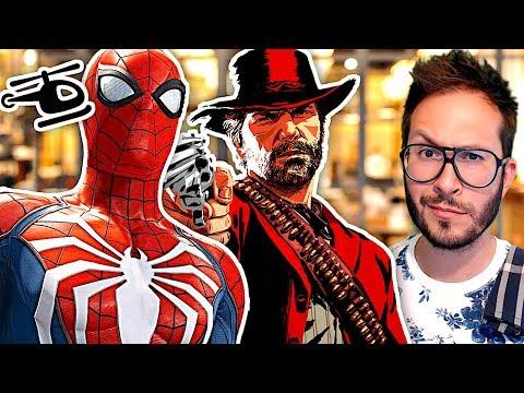 Red Dead Redemption 2 sur 2 disques, Spiderman les DLC, Sega réagit au remake de Shenmue...