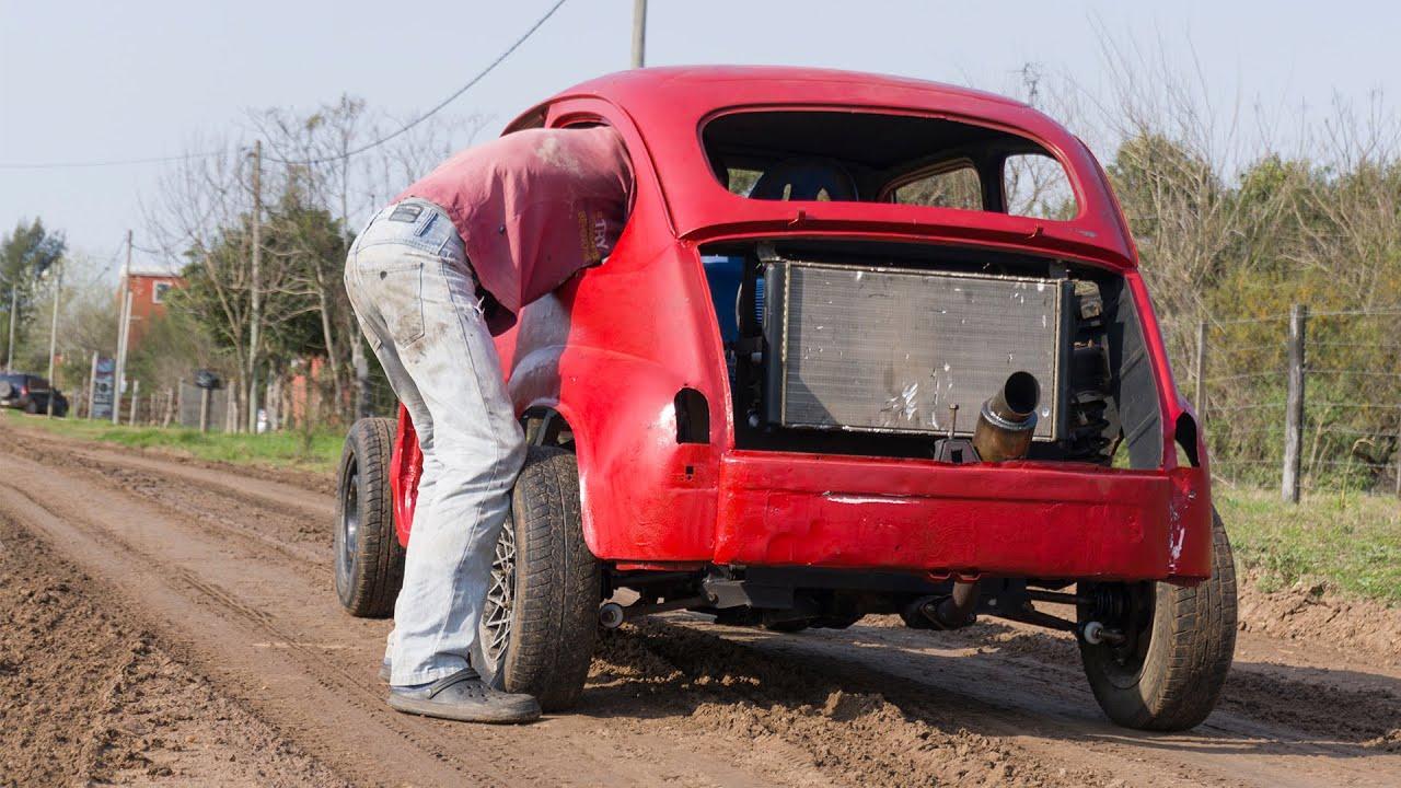 SALIO A PISTAS EL FIAT 600 1.600CC ❤ - AFLOJA PORQUE VOLCAMOS - Radialero Team
