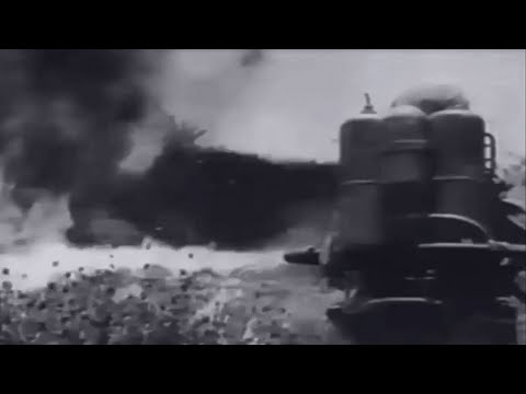 US Marines in Combat Battle of Okinawa Near Naha Sugarloaf Hill WW2 Combat Footage w Sound