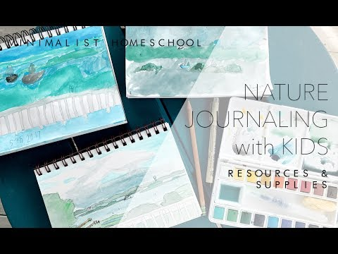 Nature Journaling with Kids | Minimalist Homeschool