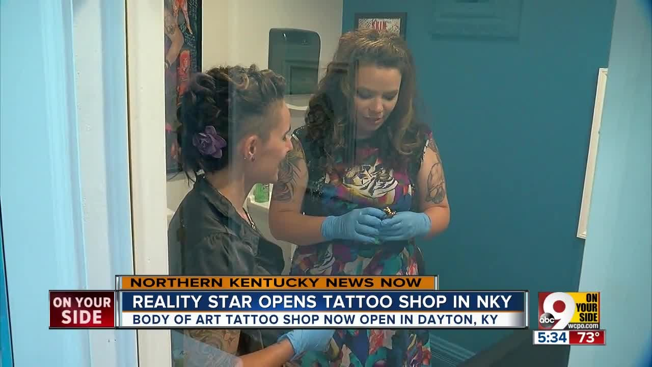 Reality Star Opens Tattoo Shop In Nky Youtube