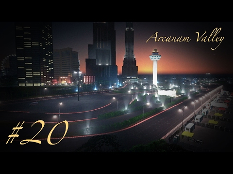 DOWNTOWN F1 GRAND PRIX CIRCUIT - Cities Skylines: Arcanam Valley - Part 20