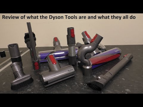 What Are All The Dyson Tools Called And What Do They Do?