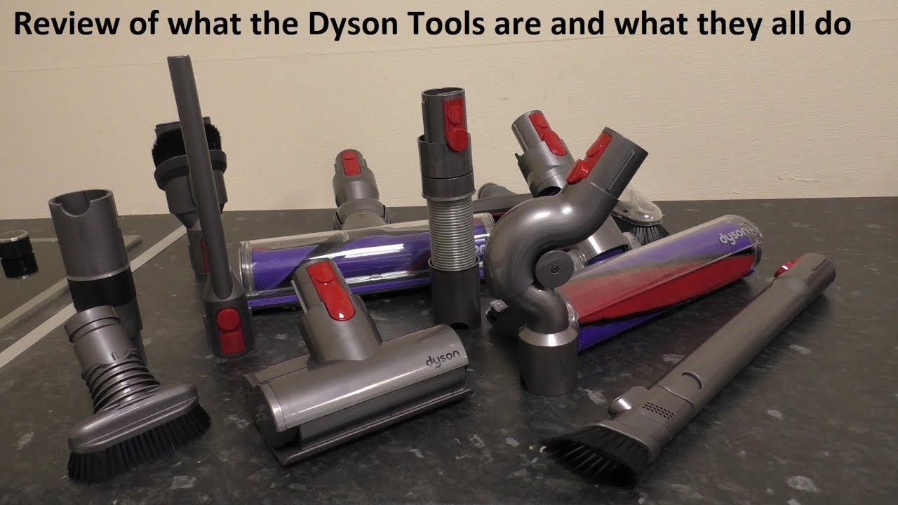 What Are All The Dyson Tools Called And