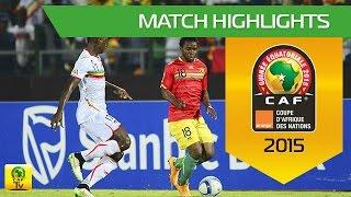 Guinea - Mali | CAN Orange 2015 | 28.01.2015