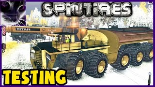 SpinTires - 6x6 Monster Dump Truck + FREE SpinTires GIVEAWAY (ENDED)