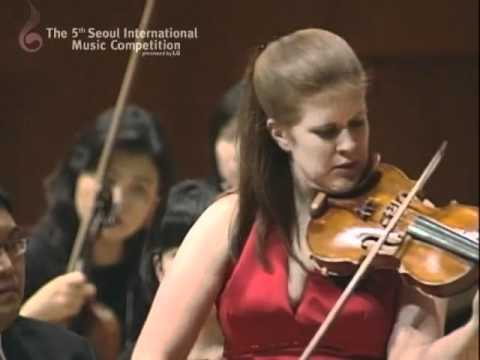 "2009 Seoul International Music Competition ""3rd Prize_Erin Keefe""(1st Mov)"
