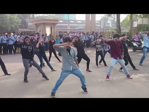 st. Aloysius college flash mob 2014 mangalore