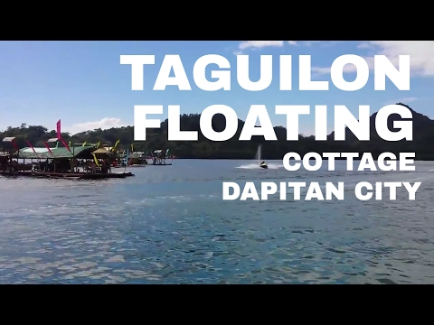 floating cottage Taguilon  , Dapitan