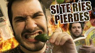 Los chiles más picantes del mundo | #SiTeRíesPierdes
