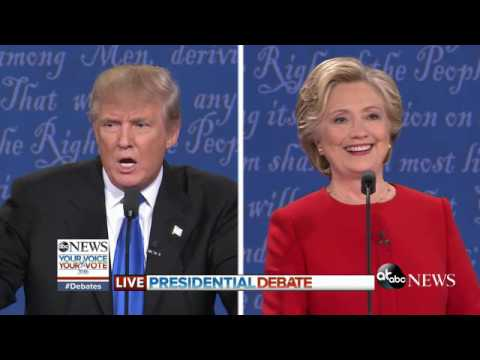 Trump On Hillary's Look and Stamina | Presidential Debate Highlights
