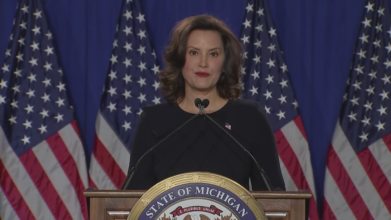 Michigan Gov. Gretchen Whitmer says don't go to the polls, vote ...