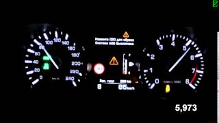 Land Rover Discovery Sport Gasoline - Acceleration 0-100 km/h (Racelogic)