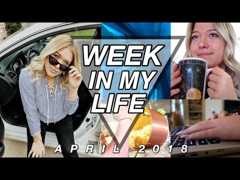 Week In My Life: Balancing College and Work