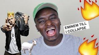 Eminem - Till I Collapse [HD] REACTION
