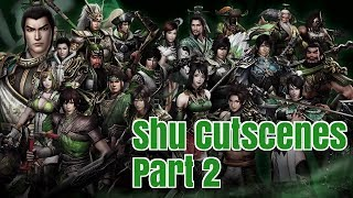 dynasty warriors 8 xl ce all shu cutscenes part 2 1080p ps4