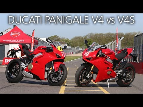 Ducati Panigale V4 Vs V4S – Is Electronic Suspension Justified?