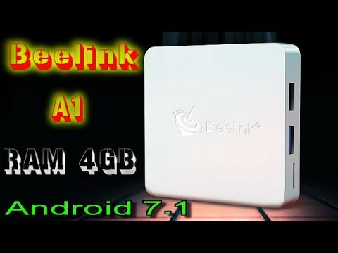 beelink tv box 4 gb ram  Beelink A1 Android 7.1 RAM 4GB. New Android TV Box - YouTube