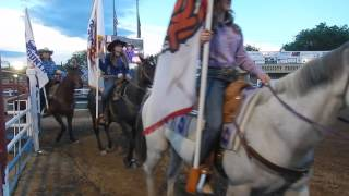 Prescott Rodeo Grand Entry 6/30/16