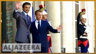 🇶🇦 🇫🇷 Macron meets Qatari emir, calls for end of blockade | Al Jazeera English