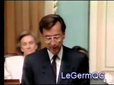 "Robert Bourassa : 22 juin 1990 - ""Quoiqu'on dise, quoiqu'on fasse..."""