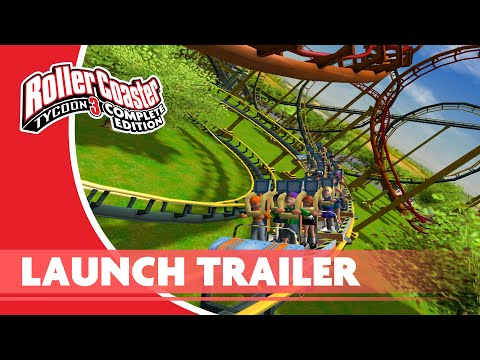 RollerCoaster Tycoon 3: Complete Edition Launch Trailer