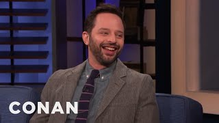 Nick Kroll's Terrible First Kiss & Completely Average Penis - CONAN on TBS