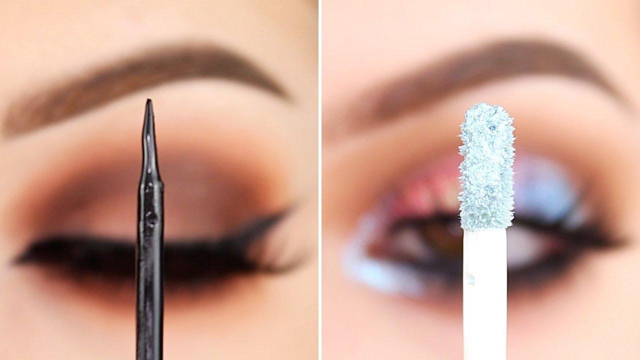 Colorful eyes makeup ideas & professional eyeliner tutorials!