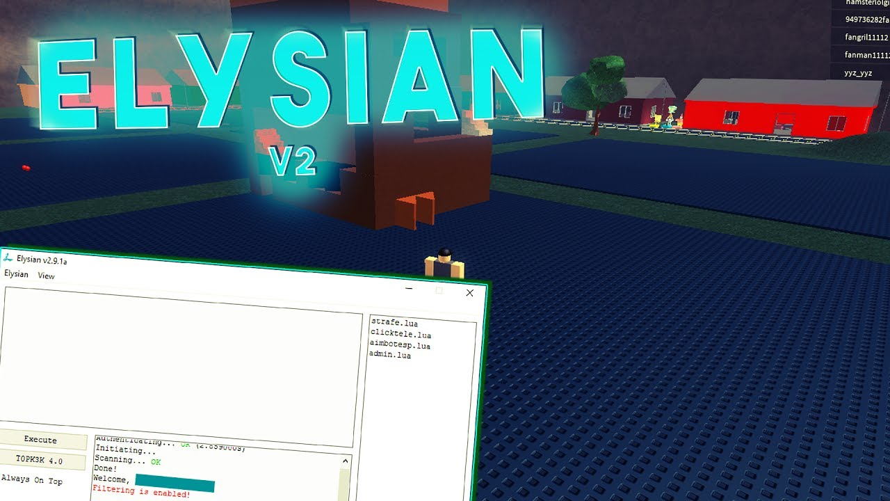 Elysian Roblox Download - Roblox Hack Elysian V2 Working 2017 Youtube