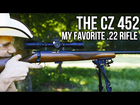 The CZ 452: My Favorite .22 Rifle