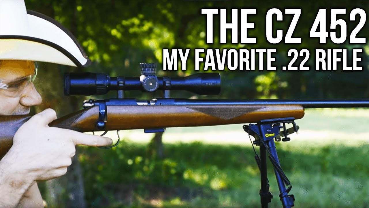 The CZ 452: My Favorite  22 Rifle