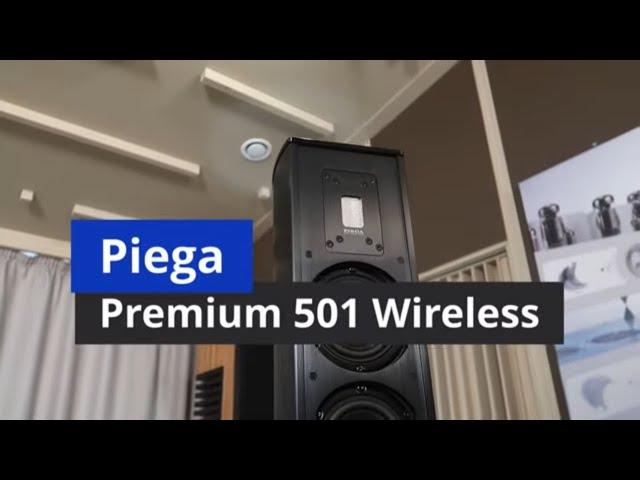 Piega Premium 501 Wireless. Активные напольные акустические системы с беспроводным подключением