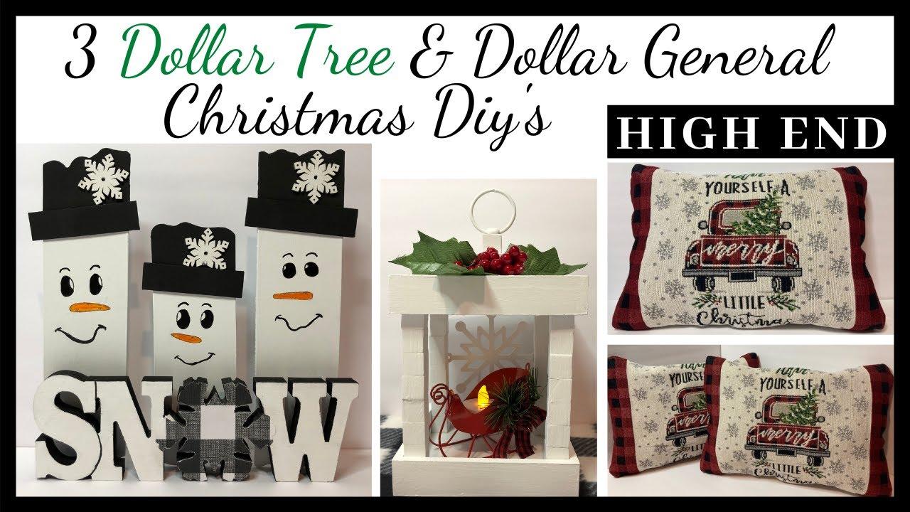 Dollar Tree Christmas Decor Diys/Friend Friday Hop/Christmas 2020 Series Video #4