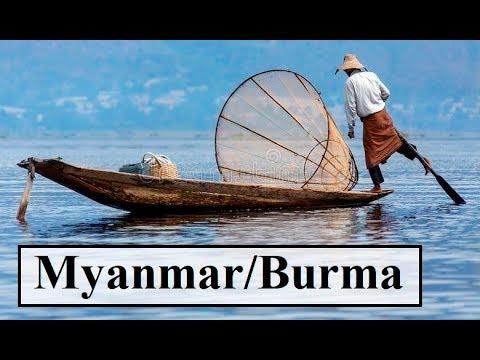 Myanmar/Beautiful INLE LAKE Part 48/48