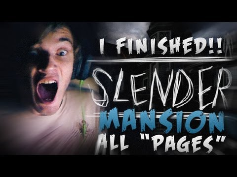 FINALLY FINISHED SLENDER BROS! :D - Slender: Mansion - ENDING