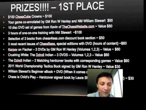 "$1,000 MASSIVE CHESS GIVEAWAY CONTEST - ""Amateur Brilliancy"" Prize"